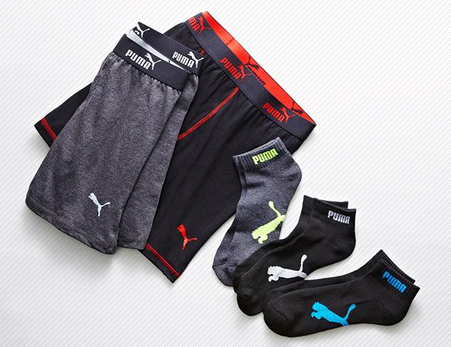 Something Sporty: Socks & Underwear feat. PUMA at MYHABIT