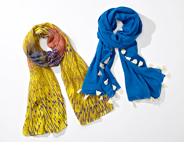 Spring Scarves from Jules Smith at MYHABIT