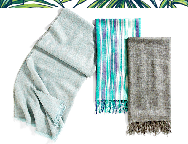 Spring Wraps from Alicia Adams Alpaca at MYHABIT