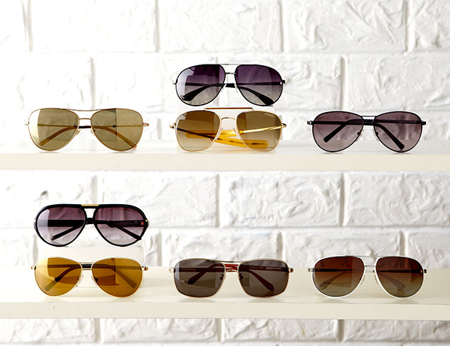 Timeless Style: Aviator Sunglasses at MYHABIT