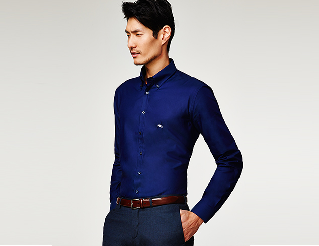 Treat Yourself: Dress Shirts feat. Etro at MYHABIT