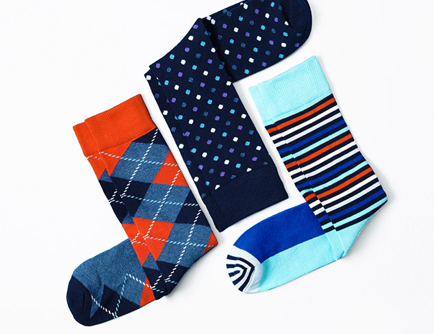 Under $29: Socks feat. Happy Socks at MYHABIT