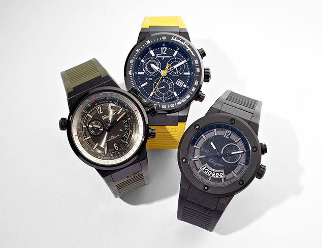 Watches feat. Ferragamo at MYHABIT