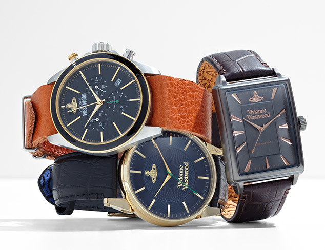 Watches feat. Vivienne Westwood at MYHABIT