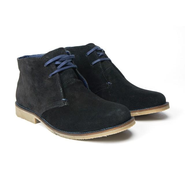 Redfoot Desert Boot in Black