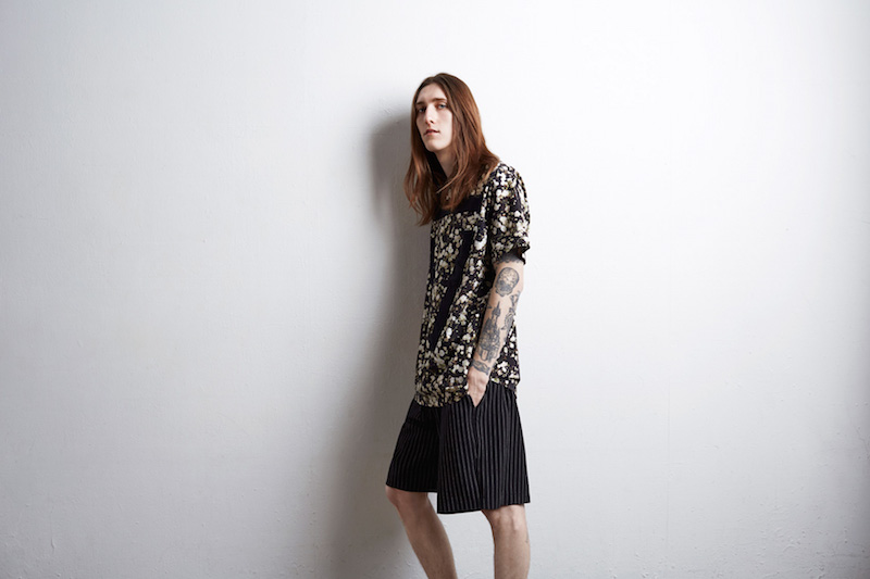 Givenchy Black Floral Print T-Shirt