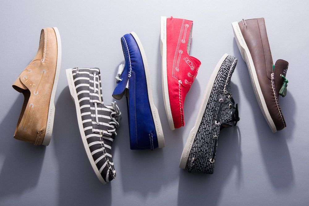 Sperry x Band of Outsiders Spring 2015 Collection