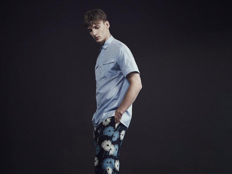 Valentino Floral-print Slim-leg Trousers