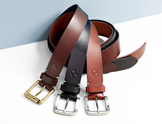 $39 & Under: Denim-Friendly Belts at MYHABIT