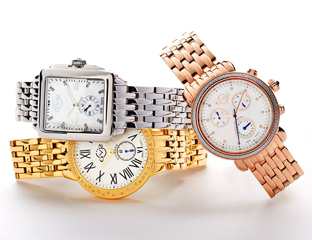 90% Off: GV2 Diamond Watches at MYHABIT