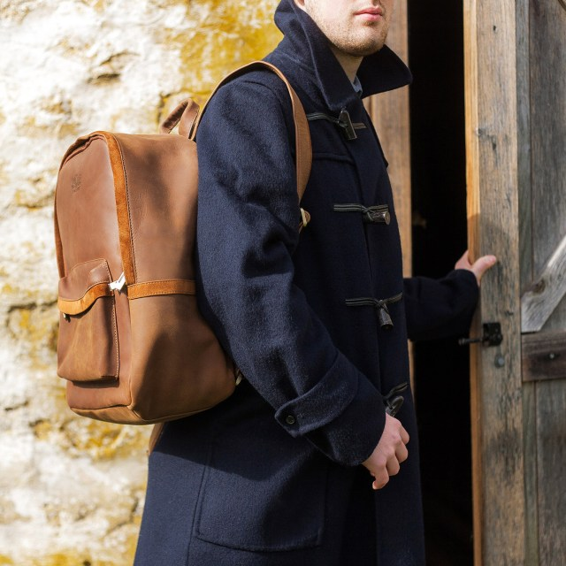 Avallone Handmade Antique Leather Backpack