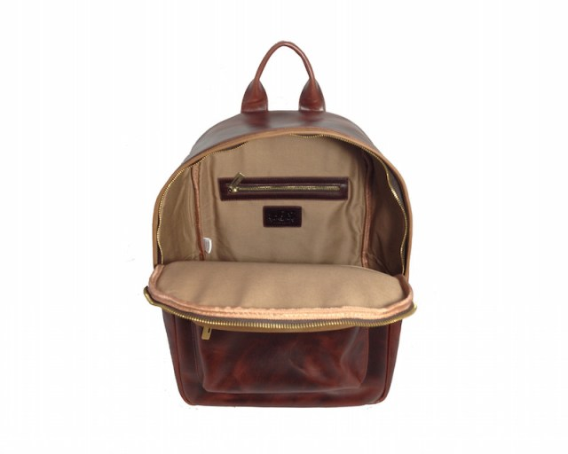 Avallone Handmade Antique Leather Backpack_5