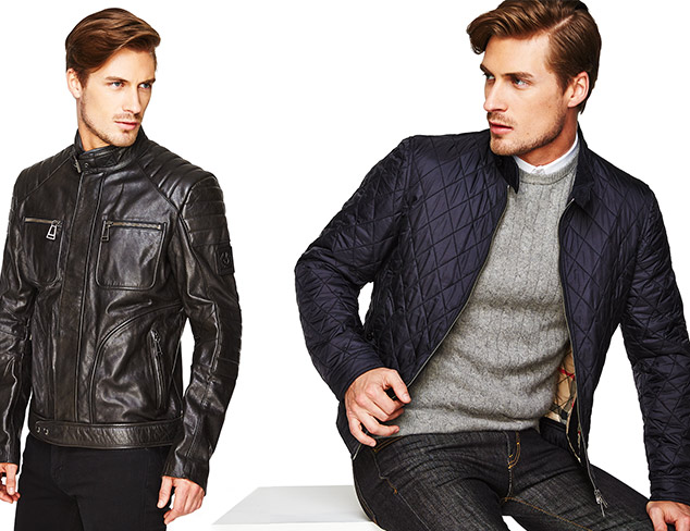 Best of Spring Outerwear: Belstaff & Burberry at MYHABIT