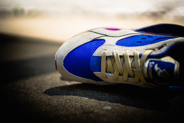 Bodega x Saucony G9 Shadow 6 Pattern Recognition Light Tan Blue_3
