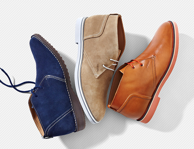 Boots feat. Geox at MYHABIT