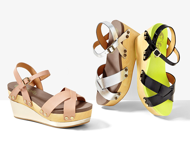 City Stepping Wedges at MYHABIT