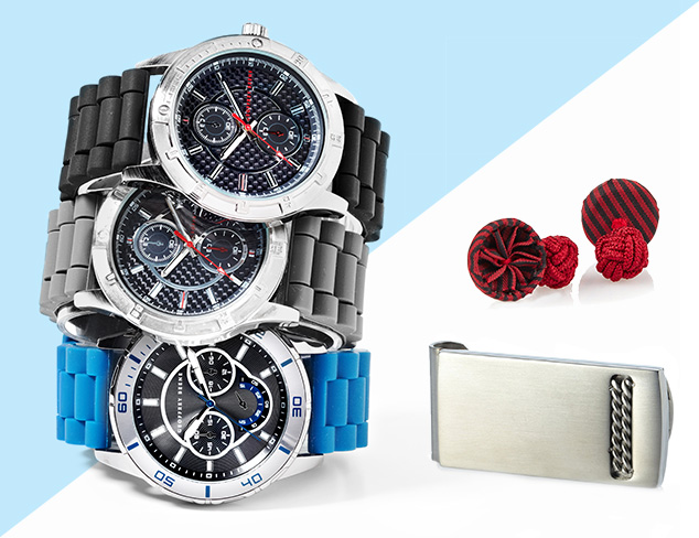 Complete the Look: Cufflinks, Jewelry & Watches at MYHABIT