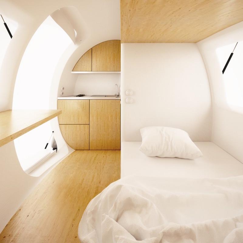Ecocapsule Low-Energy Portable House_4