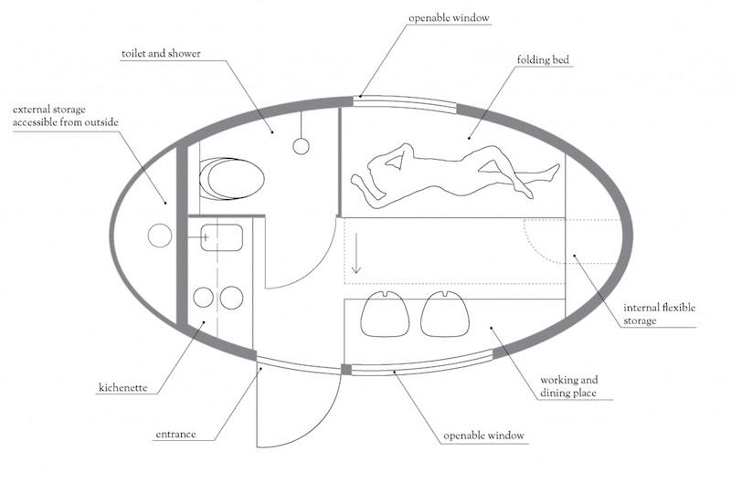 Ecocapsule Low-Energy Portable House_6