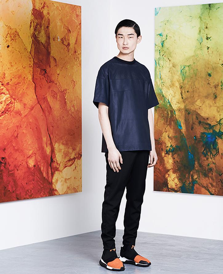 Juun.J Oversized Leather T-shirt