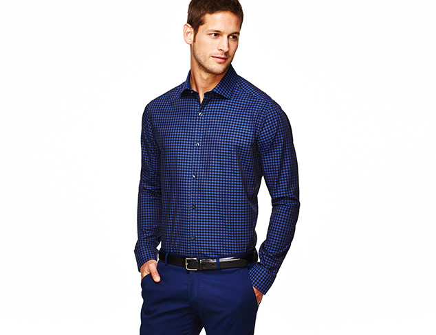 Perry Ellis No-Iron Dress Shirts at MYHABIT