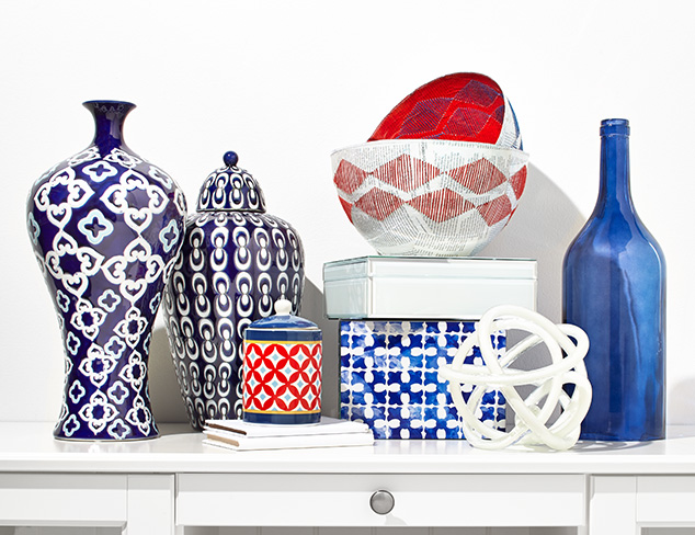 Red, White & Blue Décor & More at MYHABIT