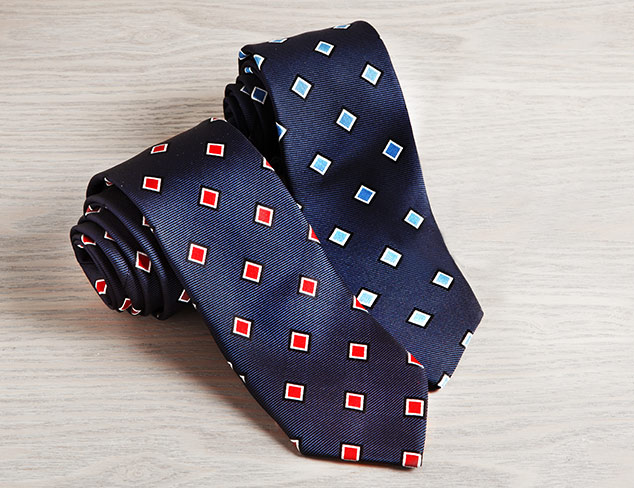 Suiting 101 Ties & Pocket Squares at MYHABIT