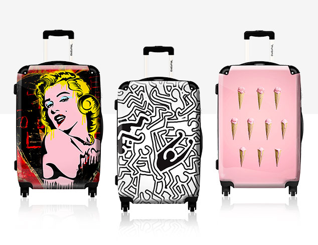 Travel with Cheer Quirky Luggage at MYHABIT