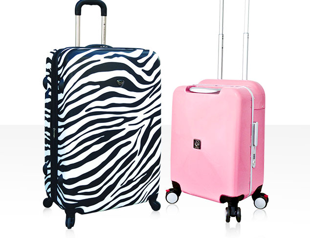 Travelers Club Luggage at MYHABIT