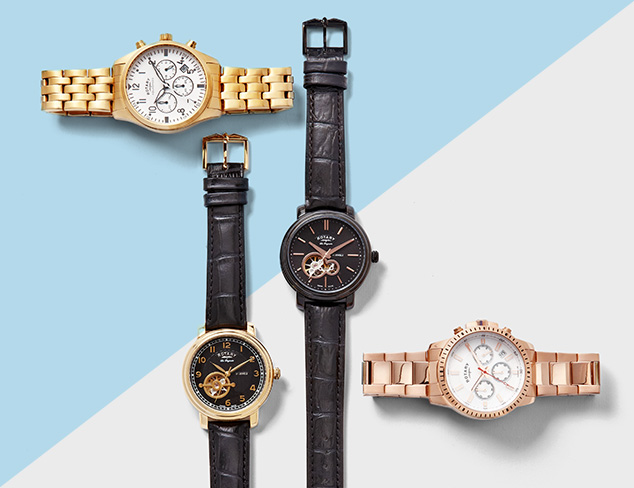 Watches feat. Rotary at MYHABIT