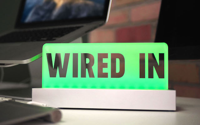 Wired In: Wireless Productivity Sign To Eliminate Distractions