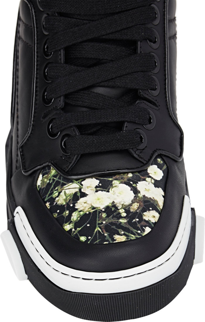 Givenchy Tyson Floral High-Top Sneakers_5