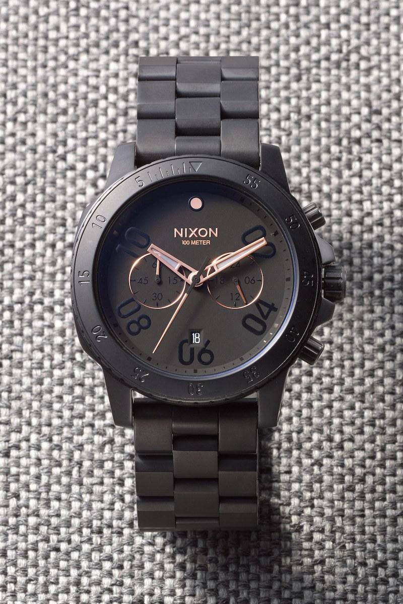 Nixon Ranger Chronograph Bracelet Watch_1