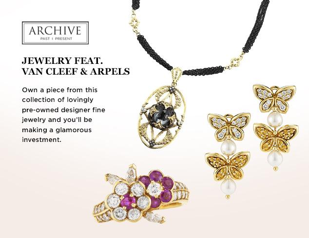 ARCHIVE Jewelry feat. Van Cleef & Arpels at MYHABIT