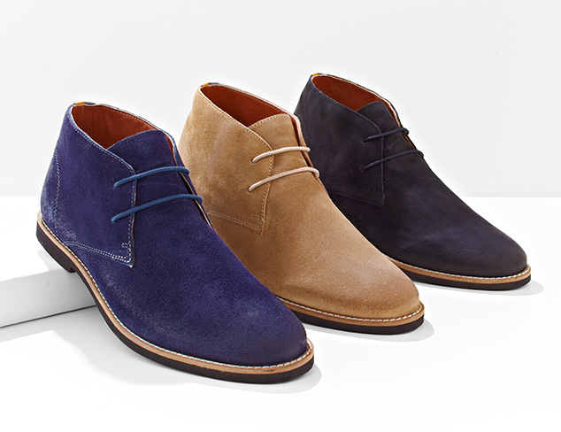 Cool & Classic Chukkas at MYHABIT