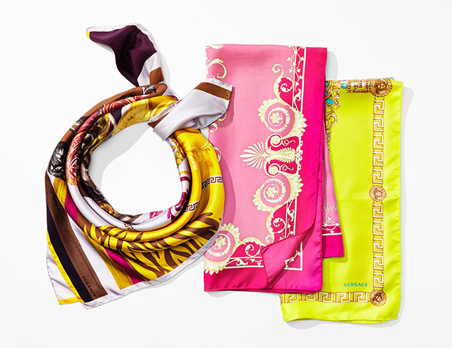 Designer Scarves feat. Roberto Cavalli at MYHABIT