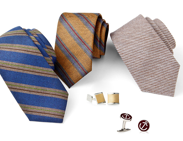 In the Details Ties, Cufflinks & More at MYHABIT