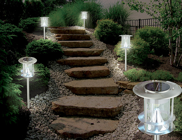 Light Up the Night Pathway & String Lights at MYHABIT