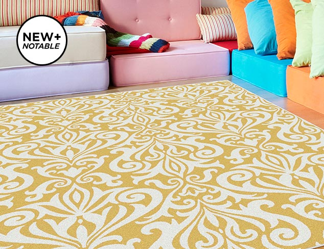 Rugs for Every Room from Universal at MYHABIT