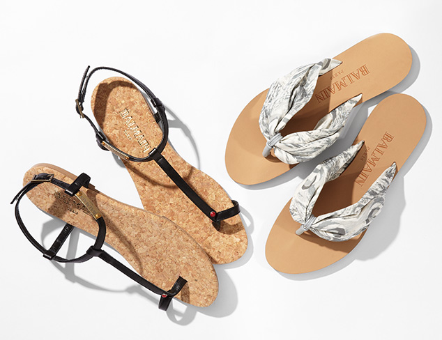 Sandals feat. Balmain at MYHABIT