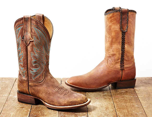 Shoes & Boots feat. Lucchese at MYHABIT