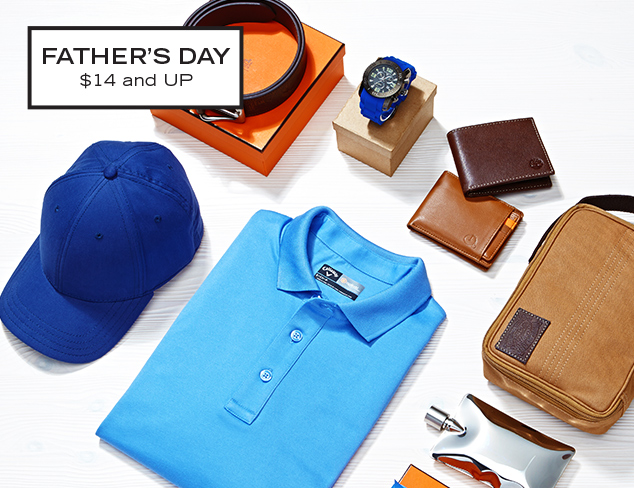Sporty Gifts for Dad at MYHABIT
