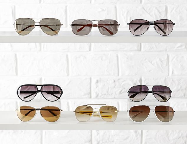 Summer Essential Aviator Sunglasses at MYHABIT
