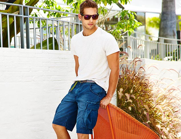 Summer Style Colorful Shorts and Tees at MYHABIT