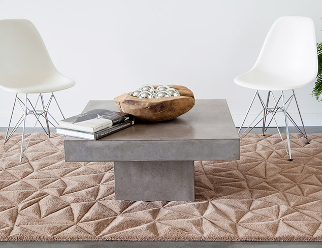 Textured Rugs feat. Chandra at MYHABIT