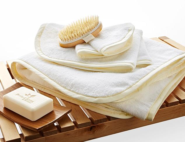 The Linen Closet 3-Piece & Hand Towel Sets at MYHABIT
