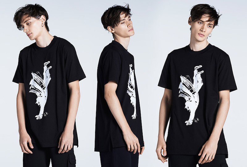 Y-3 x MATCHESFASHION.COM Yohji-print T-shirt_1