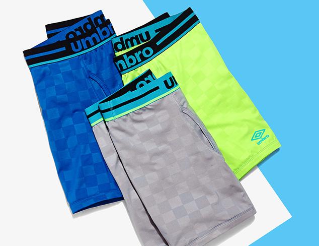 $8 & Up Underwear feat. Umbro at MYHABIT