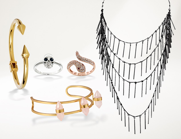 A Little Edgy Jewelry at MYHABIT