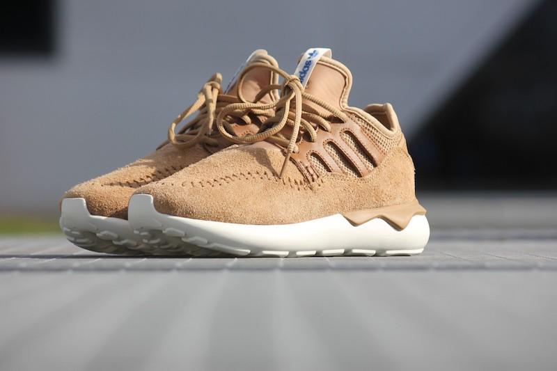 adidas Tubular Moc Runner Shoes in Cardboard Timber_1